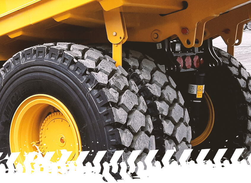 Motiv vypěňování pneu